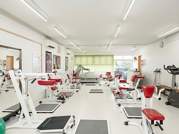 写真:トレーニング室